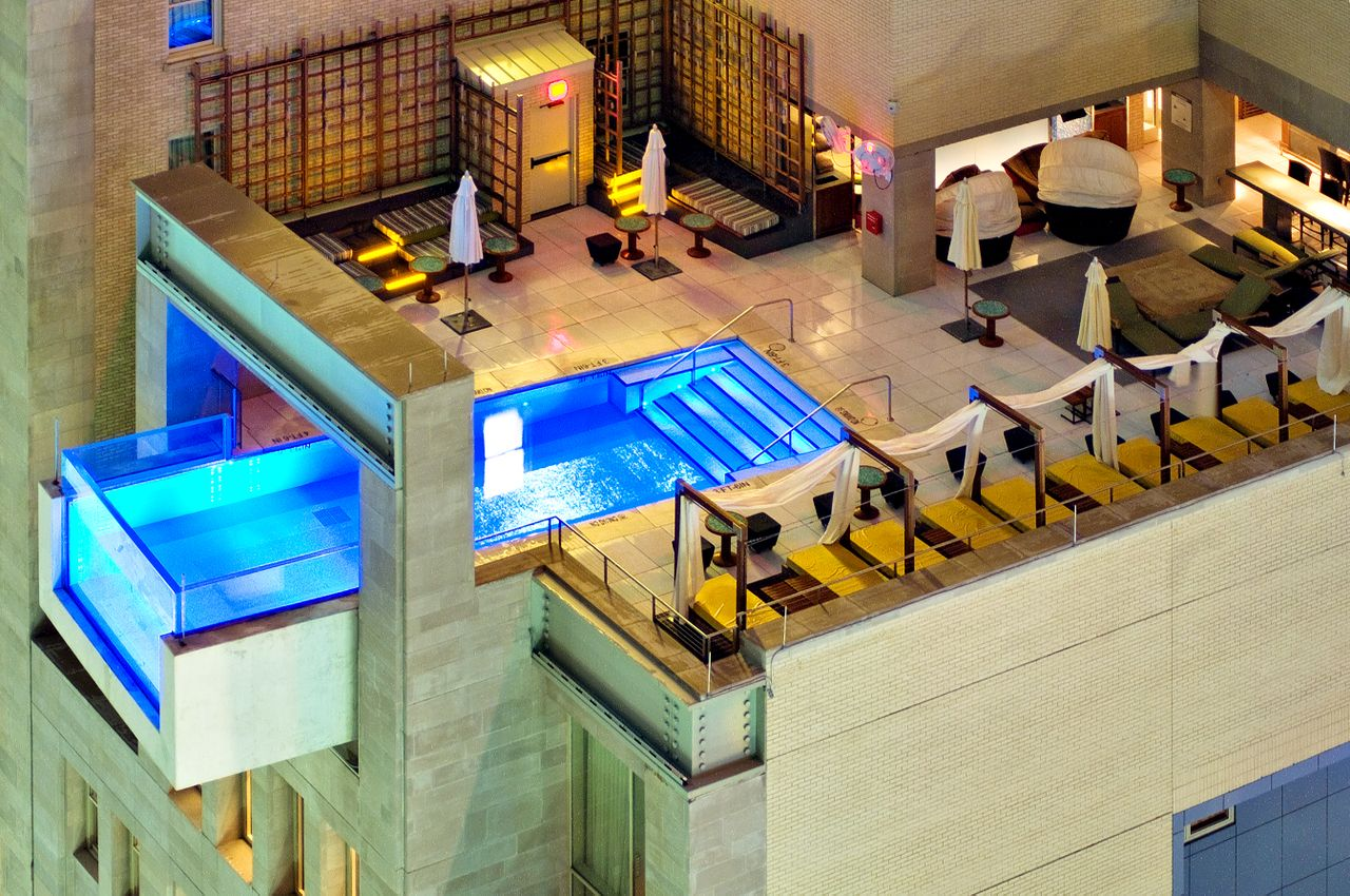 Piscine-hotel-Joule-Dallas